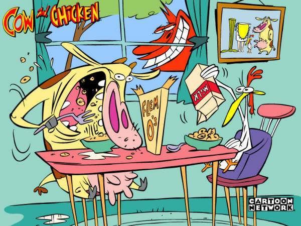 Mucca e pollo wikifur