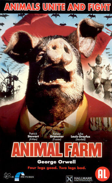 animal farm 1954 and 1999 movie There are several different animal farm movie versions, including the 1954 cartoon version and the more modern live-action 1999 made for tv adaptation no film has ever managed to completely capture the events of the animal farm book but the 1999 version comes closest.